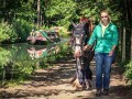 Horse drawn trips on Birdswood with Chelsea