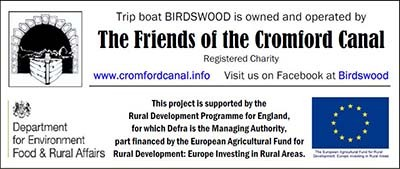 Friends of the Cromford Canal, DEFRA