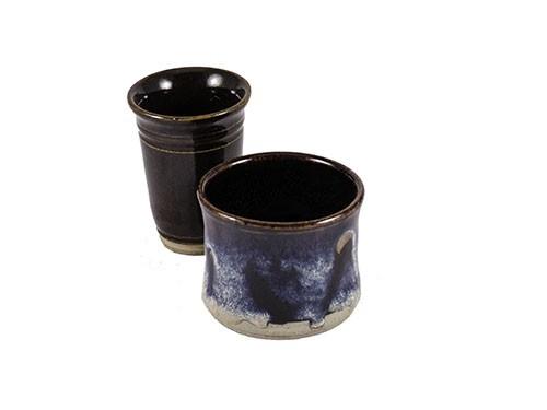 Miniature Pottery Vases - Glazed