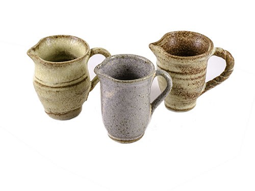 Miniature Pottery Jugs