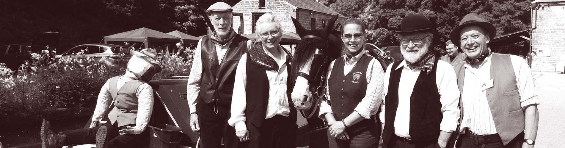 Volunteers at Birdswood, Cromford Canal, Derbyshire