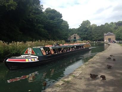heritage narrow boat birdswood