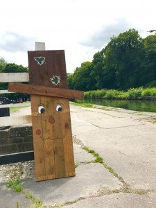scarecrow festival, Cromford Canal.